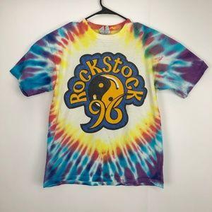 Rockstock 98 Concert Tour Tie Dye Shirt L